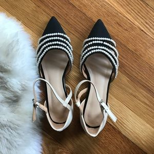 Shoes - Pearl flats sandals Chanel